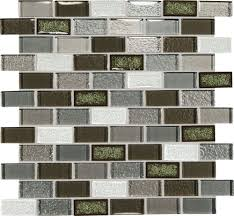 crystal shores emerald isle 12x13 brick joint blended mosaic tile