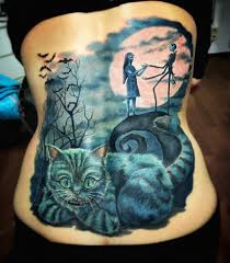 Tattoo Cover Up Ideas For Back Nightmare Before Christmas Back Cover Up Best Tattoo Ideas