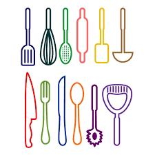 Kitchen Utensils Design by Kitchen Utensil Sayings Cuttable Design