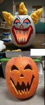 Creepy Carnival Decorations Scary Painted Pumpkin Creations Pinterest Painted Pumpkins