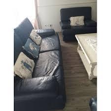 ensemble canapé fauteuil ensemble canapé fauteuil roche bobois cuir bleu marine