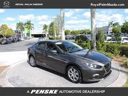 2014 used mazda mazda3 4dr sedan automatic i sport at royal palm