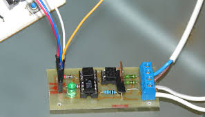 arduino controlled light dimmer 15 steps