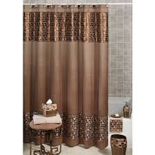 fantastic brown bathroom shower curtains 60 for home decorating