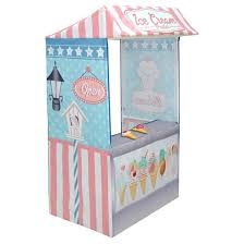 Ice Cream Bench Will Make Your House Guests Scream For Ice by Tentsy Ice Cream Parlor Playhouse Target