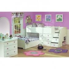 4 Bed Bunk Bed with L Shape Bunk Bed Foter