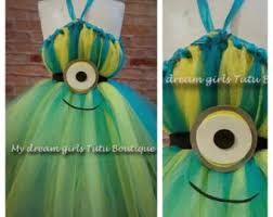 Minion Tutu Dress Etsy Minion Tutu Dress Etsy