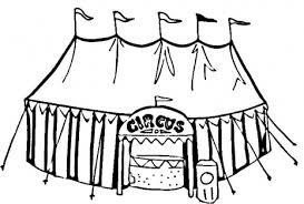 download circus tent coloring ziho coloring