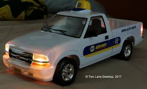 two lane desktop napa auto parts delivery truck 2002 chevy s 10