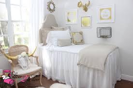 neutral tan white dorm room farmhouse stye shabby chic auburn