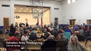 serving up smiles at the salvation army thanksgiving dinner