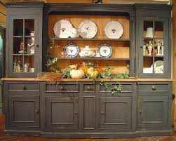 british traditions large 6 section sideboard u0026 hutch w 5 drawers