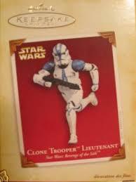 2005 wars hallmark keepsake clone trooper