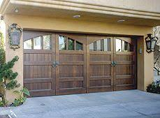 luxury wood garage doors they still roll up outside design