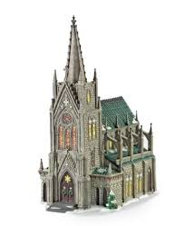 department 56 in the city series cathedral