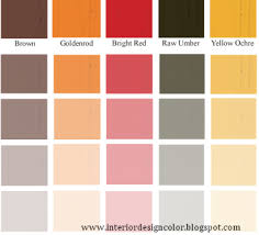 colour shades with names home interior wall decoration