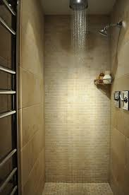 shower w teak flooring glass door small but nearly spa like would