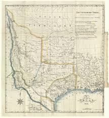 Map Of Mexico And Texas by A New Map Of Texas 1841 U2013 Save Texas History U2013 Medium