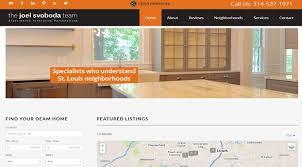 the joel svoboda real estate team linkrep web design and seo