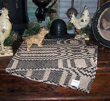 Colonial Coverlets Primitive Coverlet Ebay