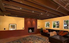Ideas For Unfinished Basement 56 Unfinished Basement Floor Ideas Unfinished Basement Ceiling