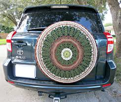 tire cover for honda crv nature lover crocheted spare tire cover by tristinandcompany