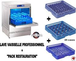 lave cuisine pro lave vaisselle frontal professionnel pack restauration