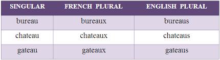 bureau plural plural foreign nouns and summerhill studio grammar