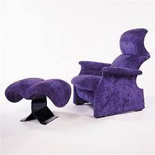 Luca Ottoman San Luca Chair And Ottoman By Pier Giacomo And Achille Castiglioni