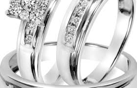 wedding rings trio sets for cheap ring pretty inspirational trio wedding ring sets 500