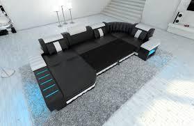 sofa bezugsstoffe big fabric sectional sofa boston u with led