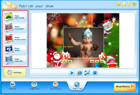How To Make A Christmas Card Online - make christmas card with amazing slideshow maker