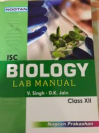 nootan isc biology lab manual xii amazon in home u0026 kitchen