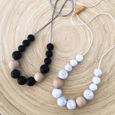 silicone bead necklace images Silicone necklace evie teething nursing necklaces png