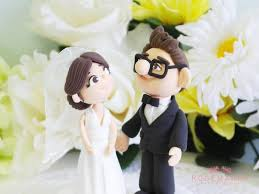up cake topper custom wedding cake topper elli carl from up 2415526
