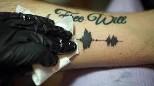 hide tattoo app soundwave tattoos tattoos you can hear youtube