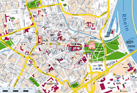 Google Map Germany by Map Of The City Speyer De