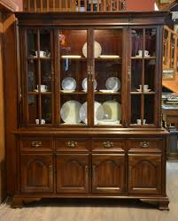 cherry wood china cabinet gibbard cherry wood sideboard with hutch china cabinet ibon antiques