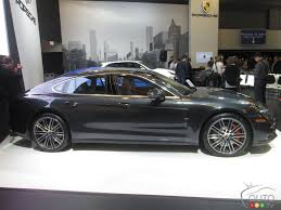 porsche car 2017 2017 porsche panamera makes canadian debut in montreal car news