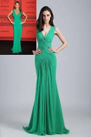 green crystal two piece sheer long sleeve chiffon prom dress