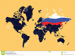 World Map Ai File Free Download by World Map Showing Russian Federation Royalty Free Stock Images