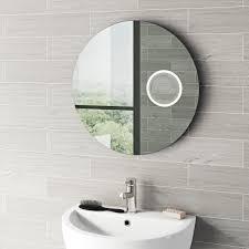 mode aurora round demister magnifying led mirror victoriaplum com