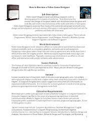 Fashion Designer Education Requirements Game Designer Job Description How To Write A Mla Essay Customer