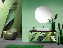 Modern Bathroom Colour Schemes - 22 modern bathroom ideas blending green color into interior design