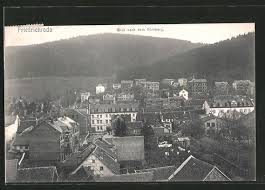 Ak Ansichtskarte Friedrichroda Blick Vom Herzogsweg Ak Bad Friedrichroda Blick Nach Dem Körnberg Nr 6112581 Oldthing