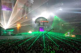 laser light shows lighting professional production services by
