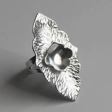 big silver rings images Handmade sterling silver ocean jasper ring by lizardi jewelry jpg