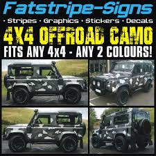offroad jeep graphics 4x4 offroad car camo graphics stickers decals camouflage defender