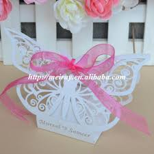 butterfly favor boxes baby shower favors gift laser cut candy box for baptism souvenirs