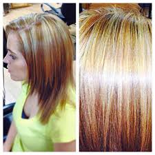 highlights and lowlights in your hair to give your hair depth